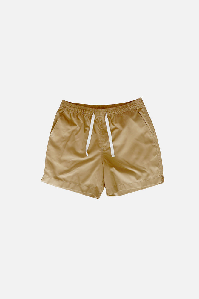 Sprint Cotton Shorts (Cinnamon) by HOVERMEN