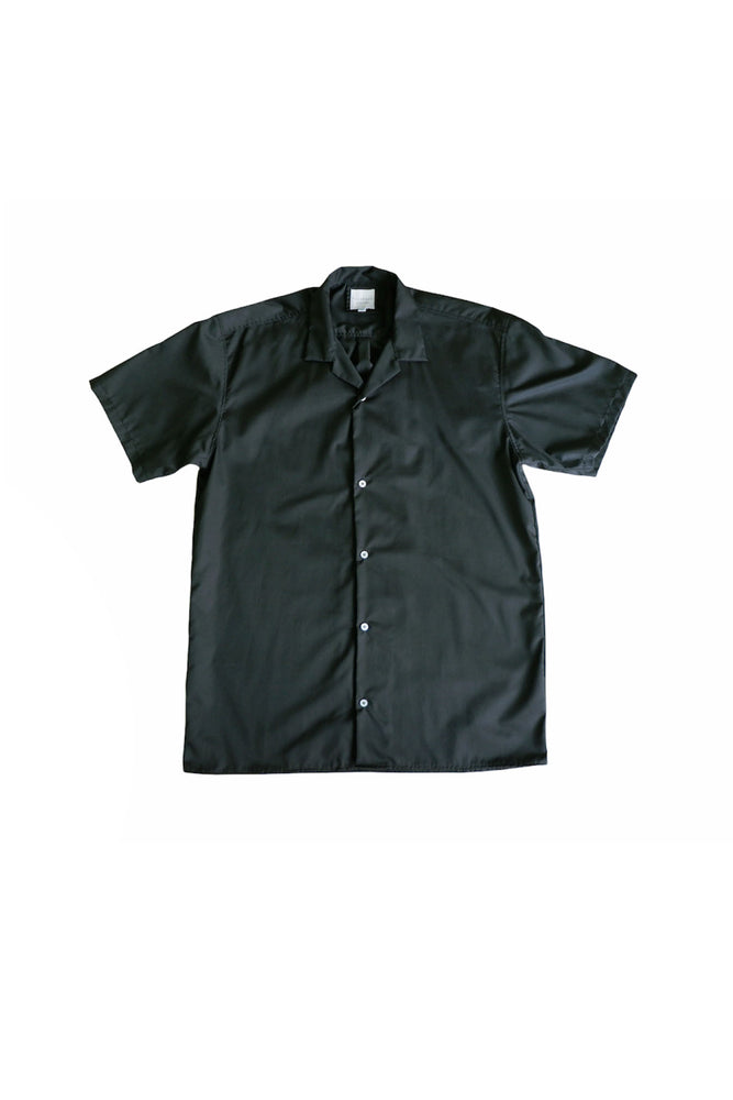Cotton Cuban Shirt (Dark Fatigue) by HOVERMEN