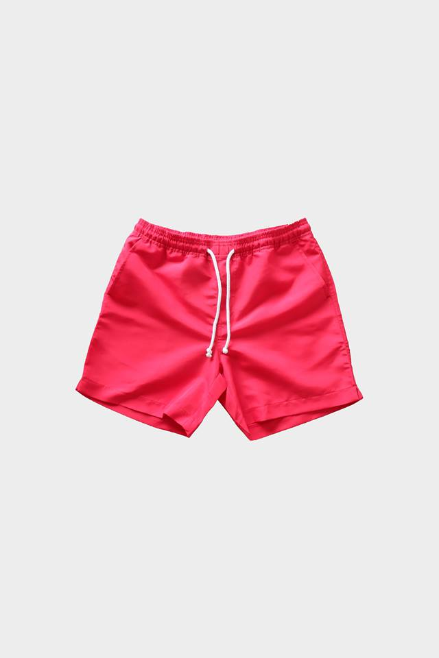 Deck Swim Shorts (Red) by HOVERMEN