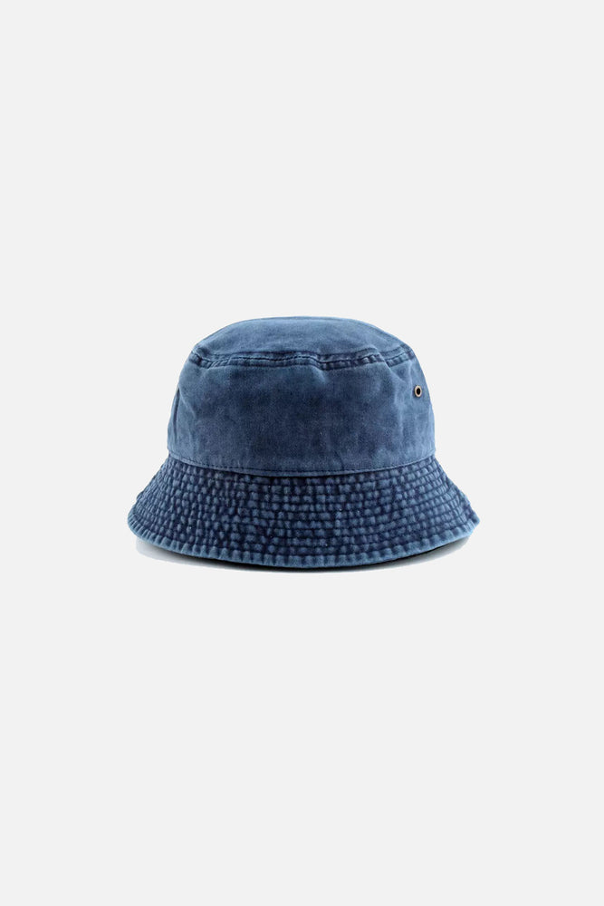 Austin Bucket Hat (Denim Blue)