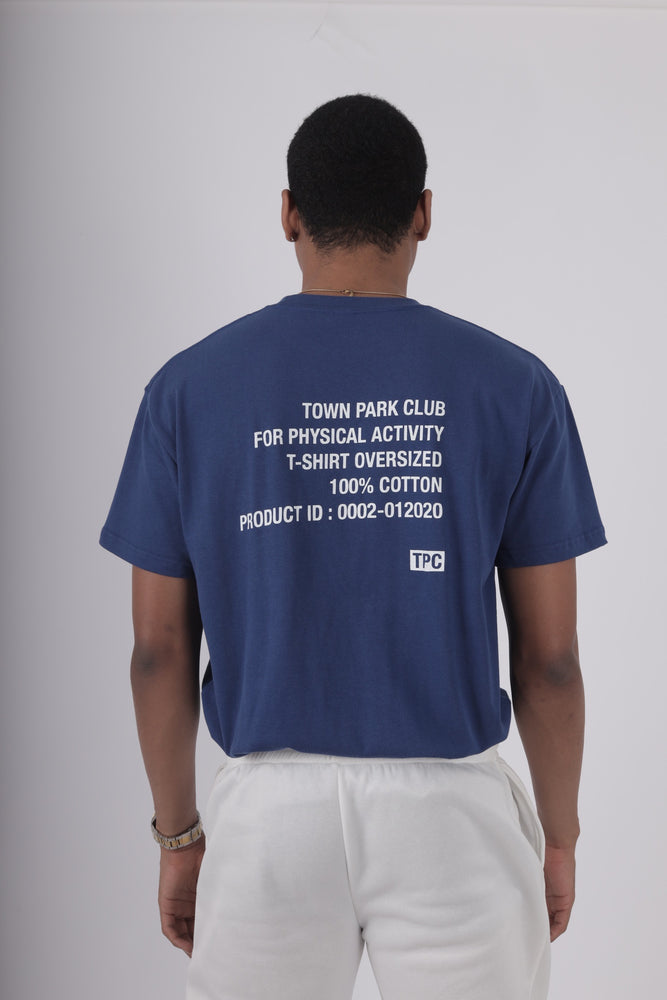 FOR PHYSICAL ACTIVITY T-SHIRT (BLUE)