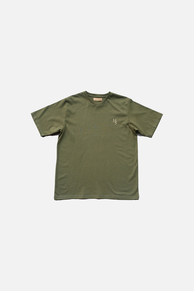 HISTORE LOGO SHIRT (ARMY GREEN)