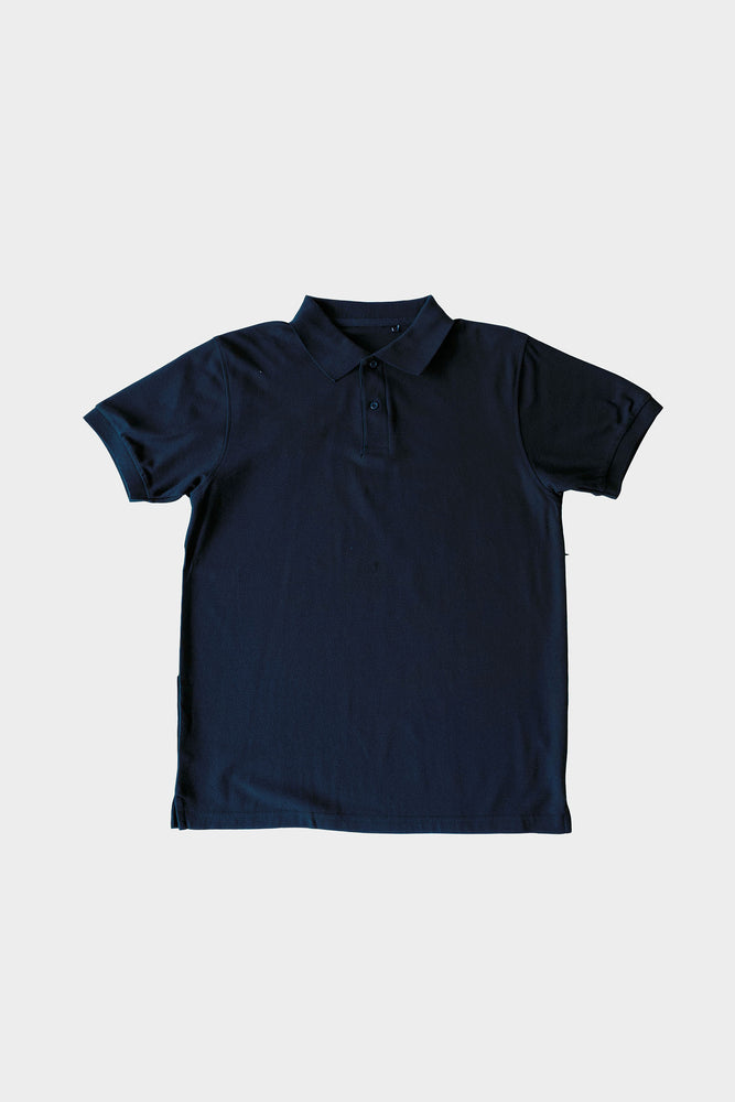 ILUSTRADOS - Barrett Polo Shirt (Dark Blue) (4396209635405)