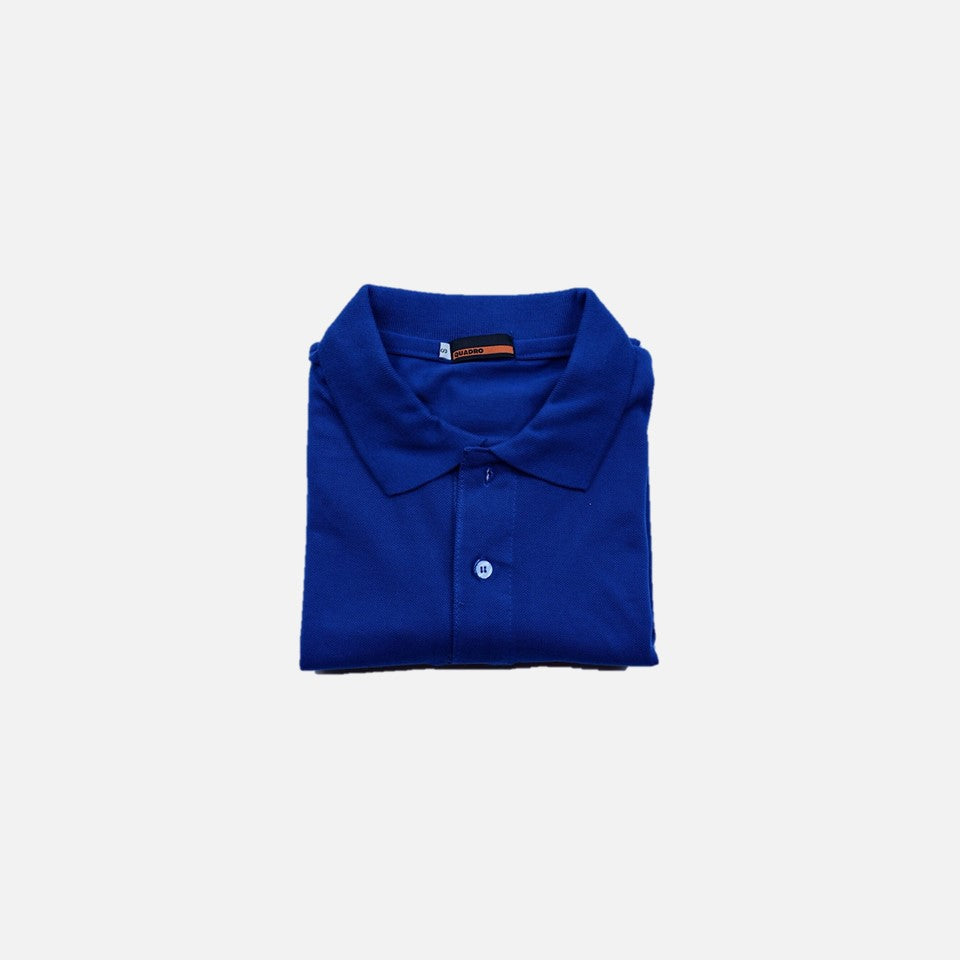 HOVERMEN - Pique Polo Shirt (Royal Blue)