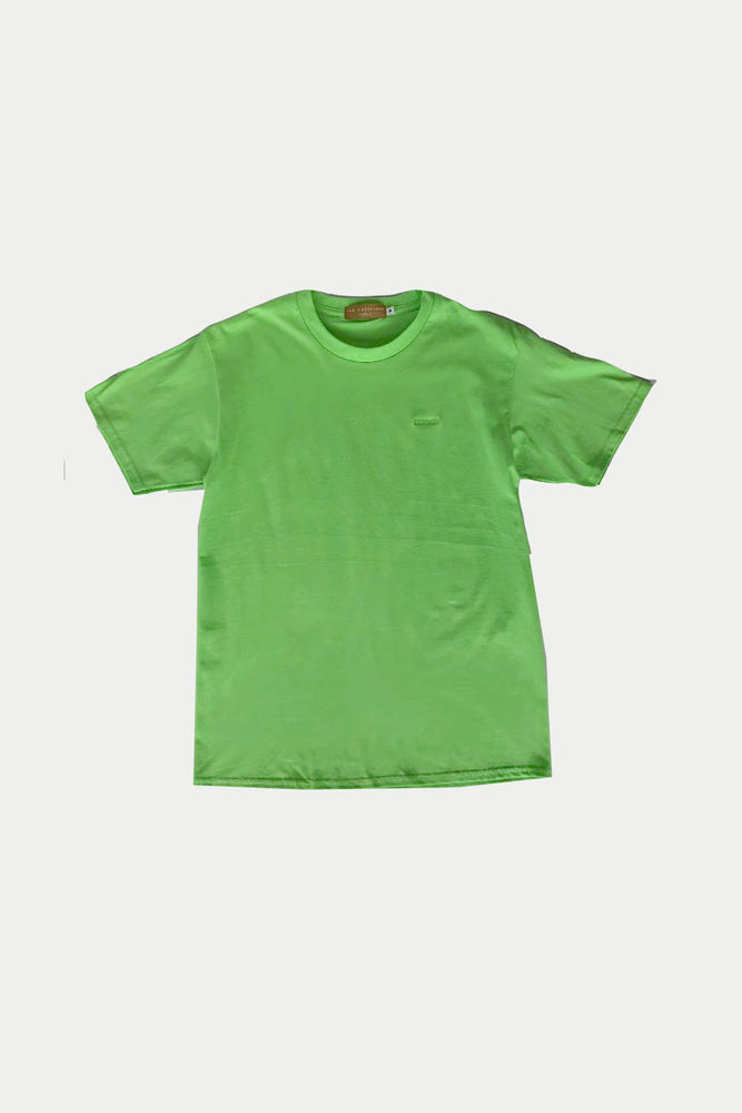 ILUSTRADOS - T Shirt with Logo (Neon Green) (3789044383821)