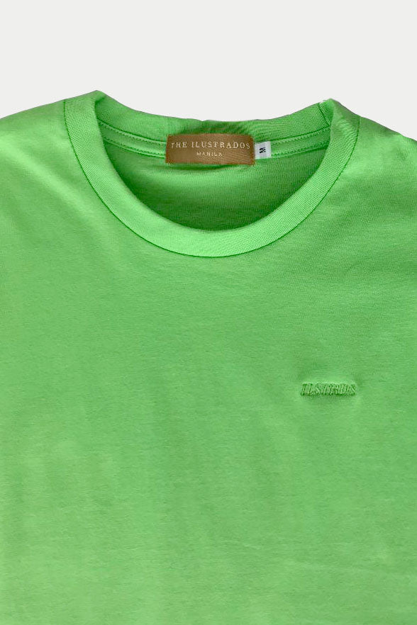 ILSTRDS LOGO SHIRT (NEON GREEN)