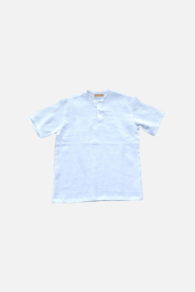 LINEN CHINO TOP ( White) - ILUSTRADOS