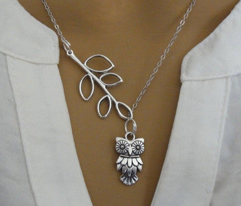 FREE 'Silver Owl' Pendant Necklace [save 19.87]