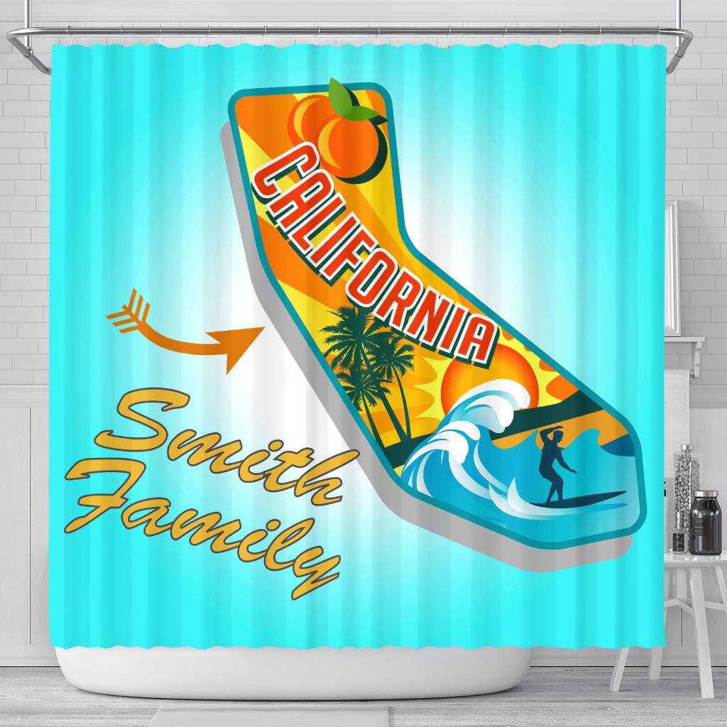 Shower Curtain CA