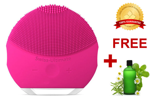 Swiss-Ultimate Handy Ultrasonic Facial Cleansing Brush