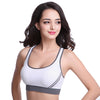 Stretch Cotton Seamless Sports Bra