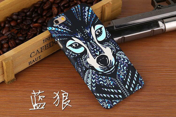 """Animals Pattern"" Hard Back Phone Case For iPhone 6/7 Plus"