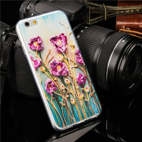 Van Gogh 'Flowers of the World' iPhone 7 / iPhone 6 Case - 16 Styles!