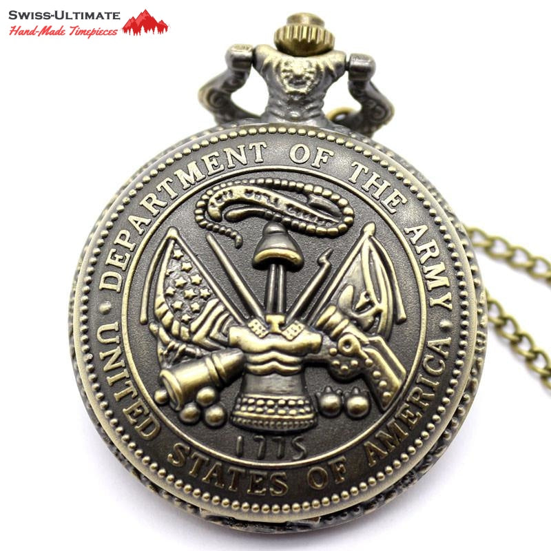 United States Army Vintage Pocket Watch - Mint