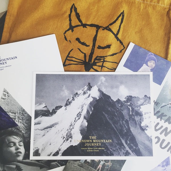 Bobo Choses 'The Unknown Mountain Journey' AW15 at Yellow Lolly