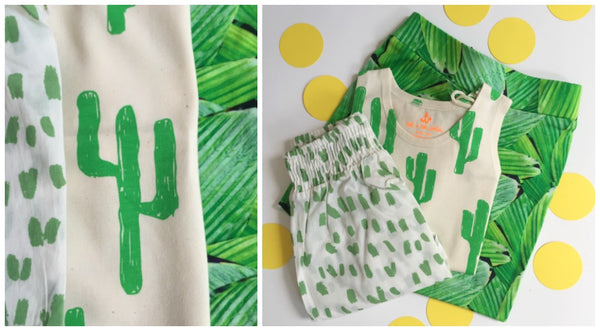 Botanical and Succulent Prints from Yellow Lolly
