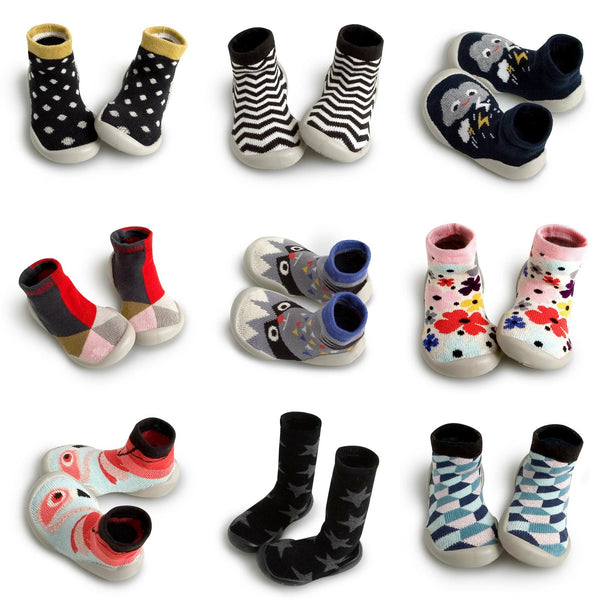 Collegien Slippers for children and toddlers with non-slip soles