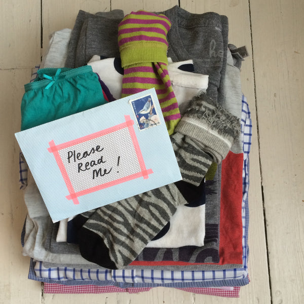Letter from the Laundry Fairy on the Yellow Lolly Blog