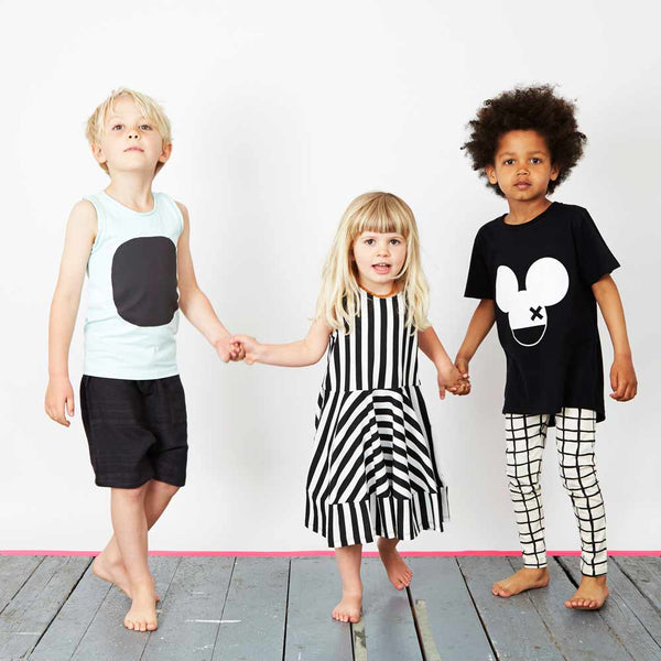 Monochrome kids fashion from Yellow Lolly including Wolf & Rita, Papu, Nico Nico, Beau LOves and Noe & Zoe