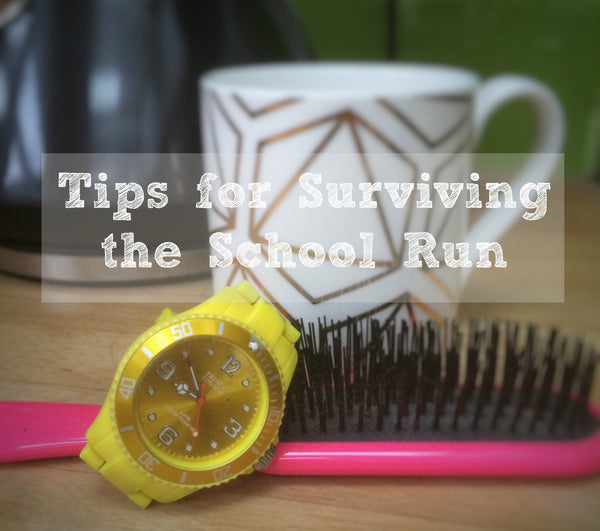 Tips for surviving the School Run from Yellow Lolly