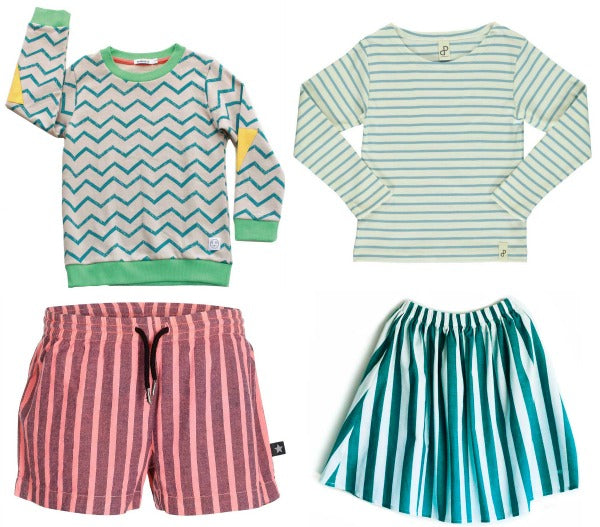 Stripes for Children from Indikidual, Popupshop,Molo and Wolf & Rita at Yellow Lolly
