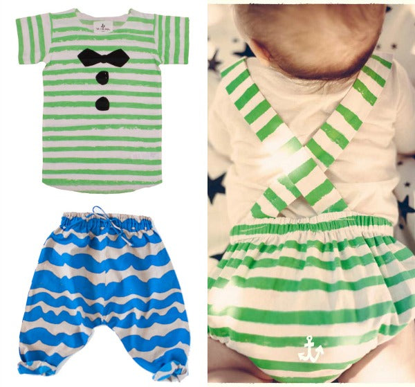 Baby Stripes from Noe & Zoe and Nadadelazos at Yellow Lolly