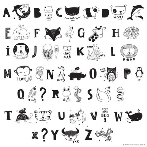 A Little Lovely A4 Light Box -FREE Animal Letters Set