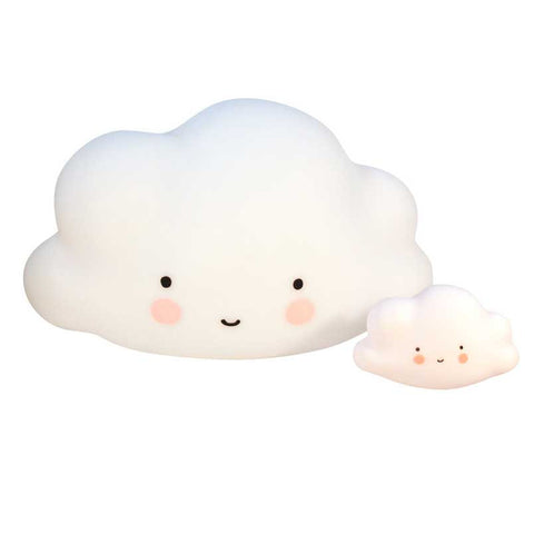 Large and Mini Cloud Lights by A Little Lovely Company - Yellow Lolly