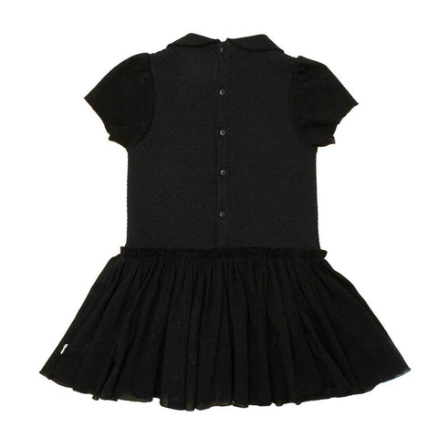 Noé and Zoë Black Bubble Peterpan Dress