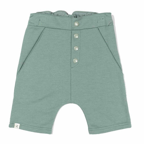 Albababy SS17 Atlantic Blue Milo Sweat Shorts at Yellow Lolly