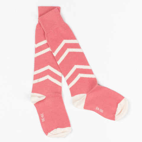 Albababy Peach Blossom Annie Knee Socks - Yellow Lolly