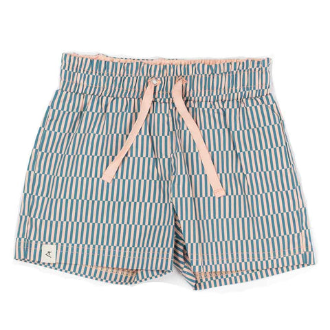 Albababy SS17 Stella Lyons Kid's Blue Shorts at Yellow Lolly