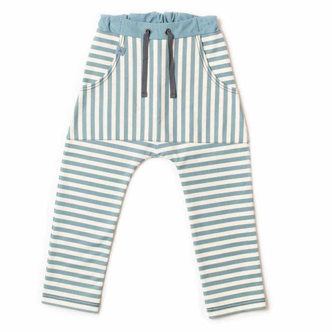 Albababy Bluestone Striped Jack Pants