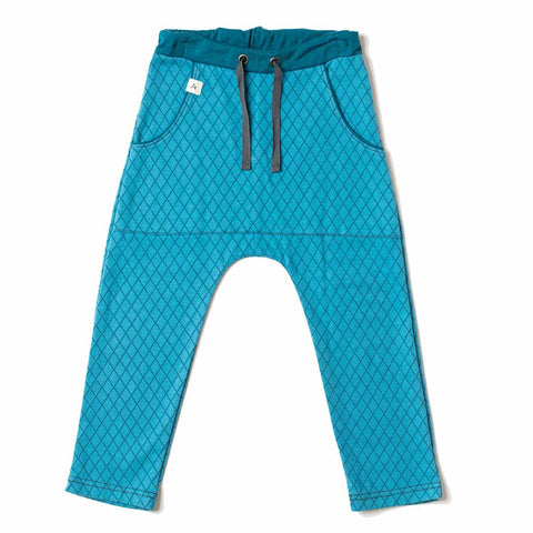 Albababy SS17 Bluejay Harlequin Jack Kid's Pants at Yellow Lolly