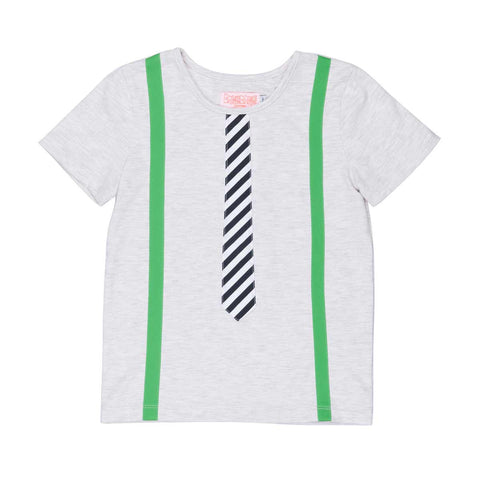 Bangbang Copenhagen Brave Tie + Braces T Shirt at Yellow Lolly