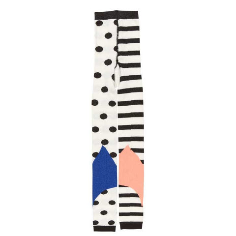 BangBang Copenhagen AW16 Dots and Stripes Footless Tights