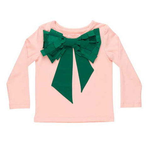 BangBang Copenhagen AW16 Minnie Green Bow T Shirt