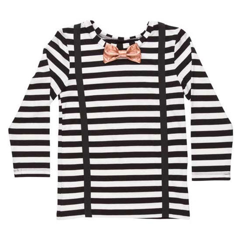 BangBang Copenhagen AW16 Woody Striped T Shirt at Yellow Lolly