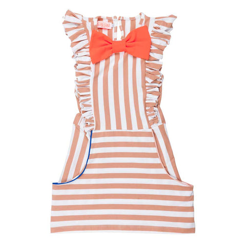 BangBang Copenhagen Chelsea Stripe Dress - Yellow Lolly