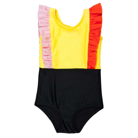 BangBang Copenhagen Harper Swimsuit - Yellow Lolly
