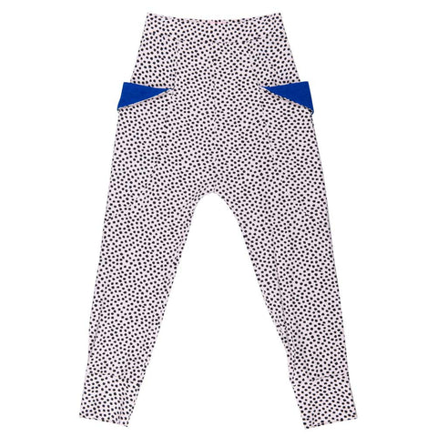 BangBang Copenhagen Mia Spotty Pants - Yellow Lolly
