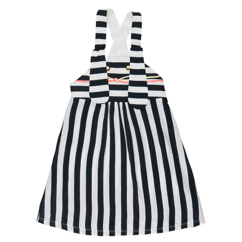 BangBang Copenhagen Ninka Stripe Dress - Yellow Lolly