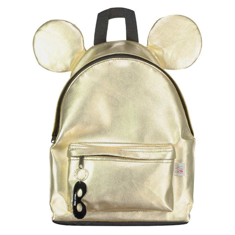 Beau Loves SS17 Kid's Gold Backpack With Ears at Yellow Lolly