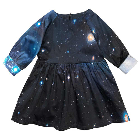 Beau Loves AW16 Galaxies Stars Love Dress at Yellow Lolly