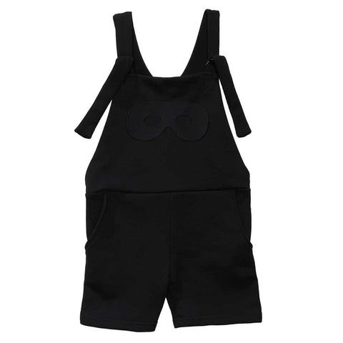 Beau Loves AW16 Mini Mark Black Shorts Jumpsuit
