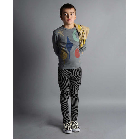 Boy Wearing Bobo Choses AW16 Magic Powers T Shirt