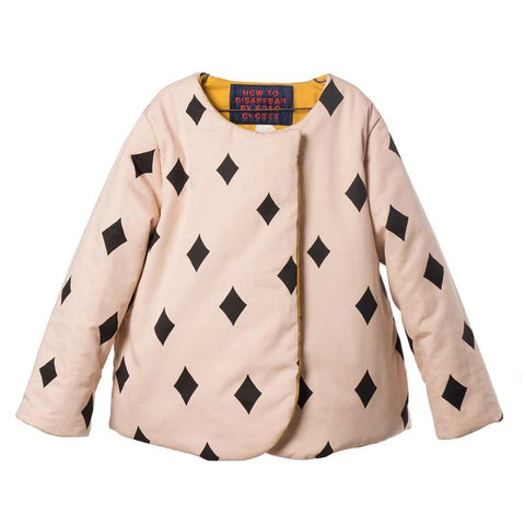 Bobo Choses Diamond Sky Reversible Jacket - Yellow Lolly