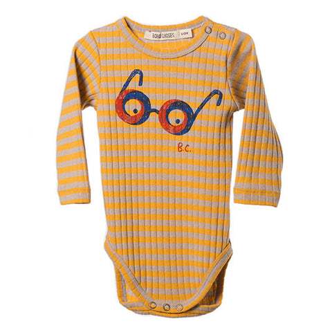 Bobo Choses AW16 Impossible Glasses Ribbed Baby Body