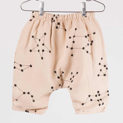 Bobo Choses Pink Constellation Baggy Baby Trousers - Yellow Lolly