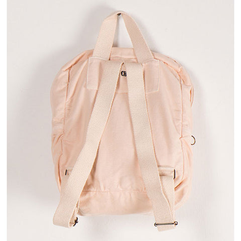 Bobo Choses Pink Hand Trick Backpack - Back View